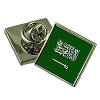 サウジアラビアラペルピンバッジを刻まれた個人化されたボックス