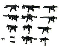 LEGO レゴ カスタム パーツ MP シリーズ 武器 アーミー 完全パック(P5) ミニ フィギュア 用 [並行輸入品]