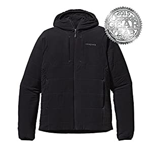 2015~2016 FALL/WINTER MODEL PATAGONIA MEN\'S NANO-AIR HOODY パタゴニア ナノエア フーディー (S, Black (BLK))