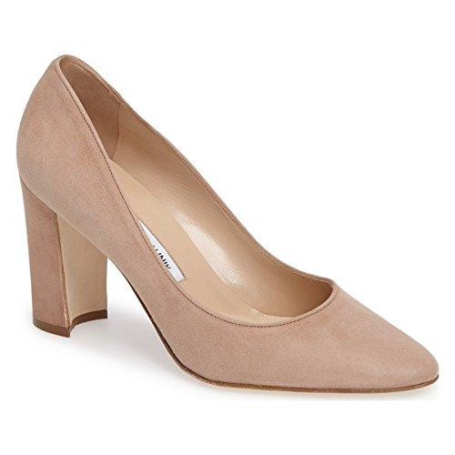 (マノロブラニク) MANOLO BLAHNIK レディース シューズ・靴 パンプス Tucciototo Block Heel Pump [並行輸入品]