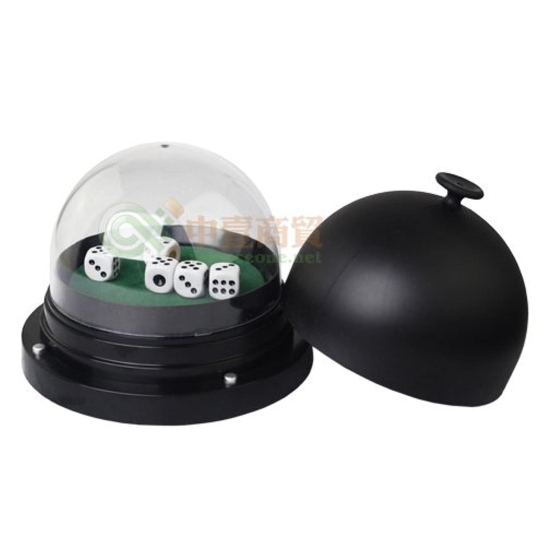 SmartDealsPro ビッグサイズ電動ダイスカップ ダイスポッパー ダイス5個セット