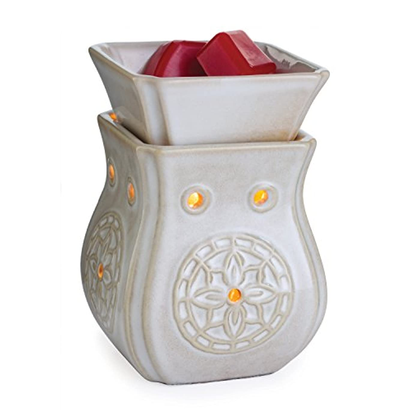 識別圧縮する完璧な(Insignia) - Candle Warmers Illumination Fragrance Warmer, Insignia Midsize