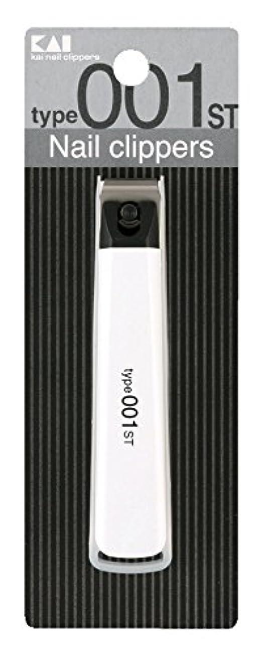 いとこまどろみのある自体貝印 ツメキリ Type001 M ST 白 KE0116