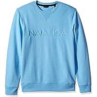 Nautica Men's Long Sleeve Crew Neck French Terry Sweatshirt