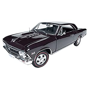 American Muscle 1/18 1966 シボレーChevelle SS (プラムミスト)