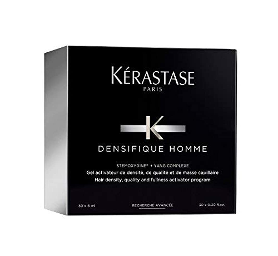 上に誓い憂鬱ケラスターゼ Densifique Homme Hair Density and Fullness Programme 30x6ml