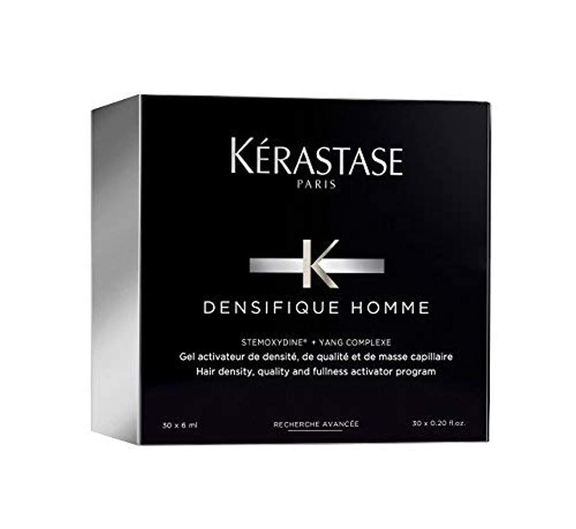 ケーキ伝説拡大するケラスターゼ Densifique Homme Hair Density and Fullness Programme 30x6ml