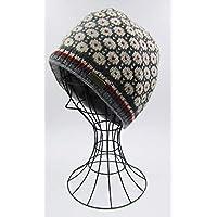 ドイツ発(MOSHIKI BRAND):レディース ビーニー型ニット帽子:CHABUK