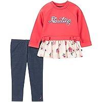Nautica Baby-Girls 2 Pieces Leggings Set Pants Set
