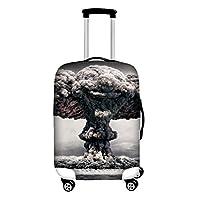 "DingDing ラゲッジカバー 伸縮素材 luggage cover スーツケースカバー 軽量 観光 通学 個性 28""inch"