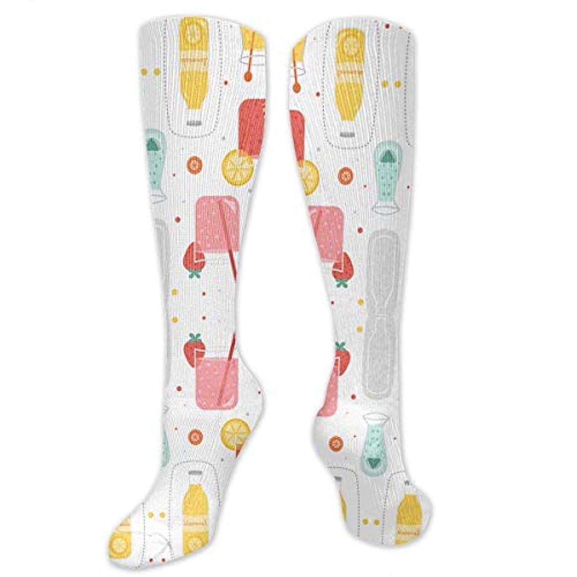 トランジスタカウボーイ範囲靴下,ストッキング,野生のジョーカー,実際,秋の本質,冬必須,サマーウェア&RBXAA Lemonade White Socks Women's Winter Cotton Long Tube Socks Cotton...