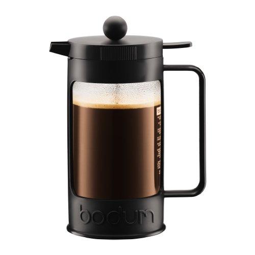ボダム BEAN フレンチプレスコーヒーメーカー 1.0L ブラック 11376-01