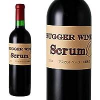 山梨ワイン 赤 ミディアムボディ ベーリーA 東晨洋酒 ラガーワイン スクラム 赤