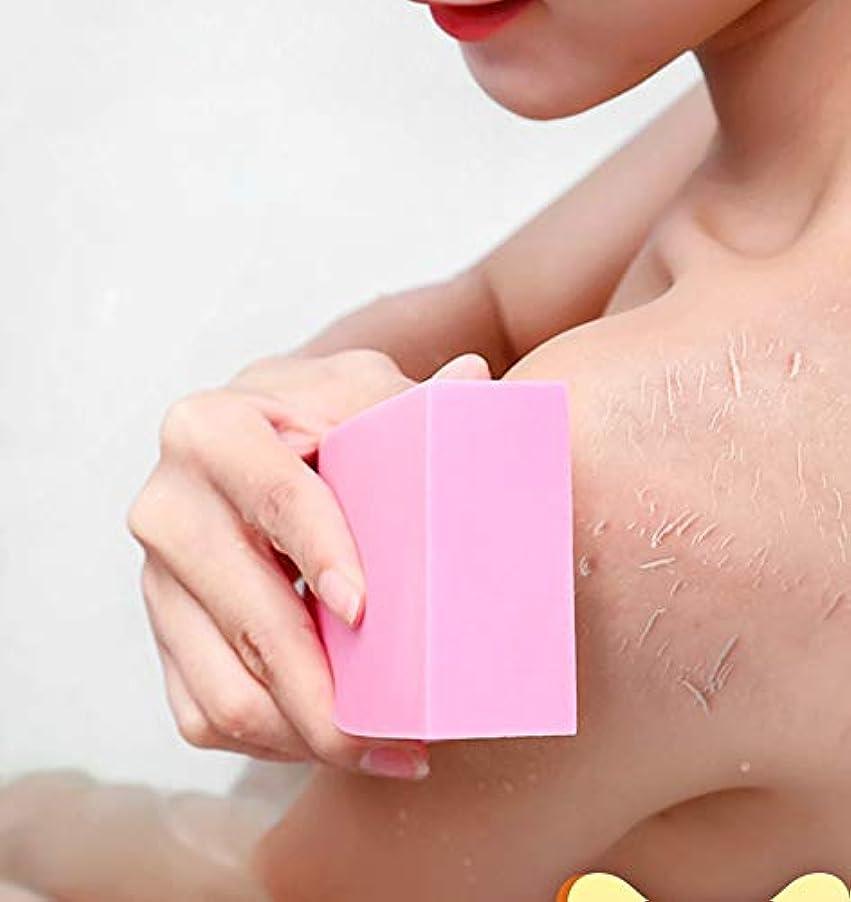 いじめっ子数可能性RICOCO 垢すりスポンジ 毛穴清潔 角質除去 海綿 やわらか シャワーブラシ 垢すりやさしい 入浴用品 バス用品 お風呂用 ボディースポンジ 血行促進 男女兼用 2枚セット