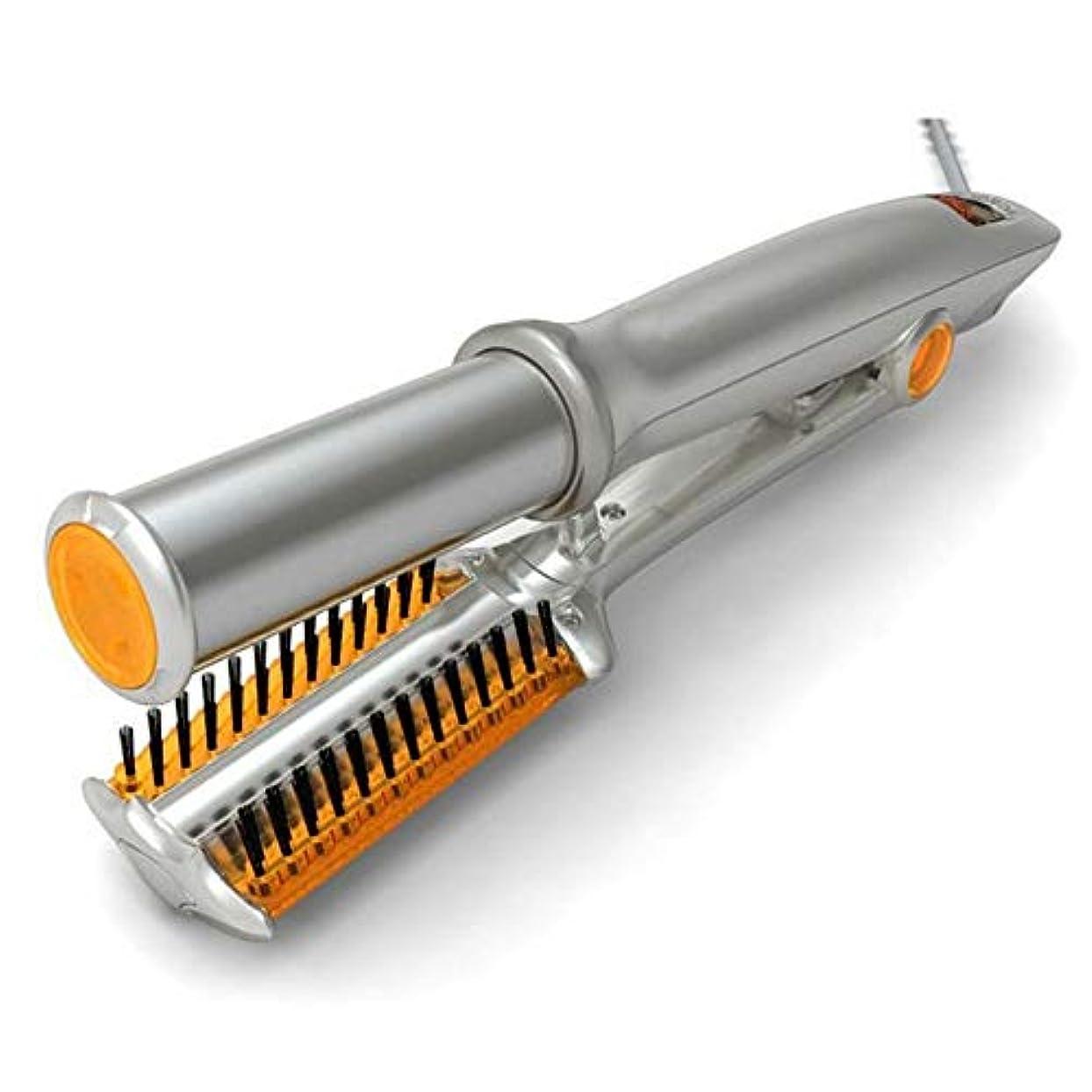爆発物きしむ練習ZYLHair 360度回転アイアンヘアカーラー - ストレート/デジタルパーマ/カール