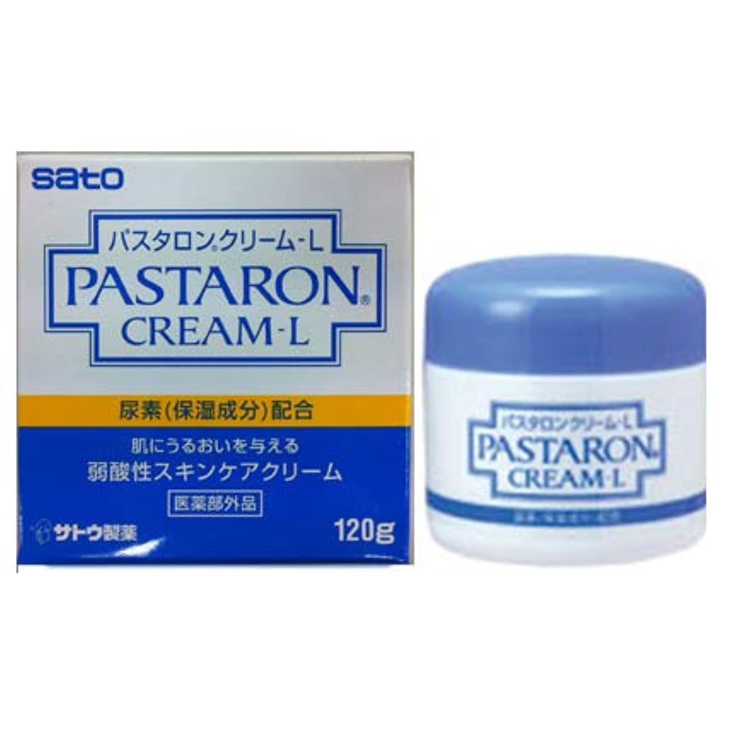 光ポーチ主張するパスタロンクリームL 120g×10個セット【医薬部外品】