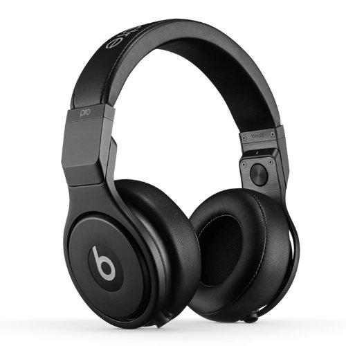 Beats by Dr.Dre ヘッドホン Pro 密閉型 アラウンドイヤー マイク付き インフィニティブラック MHA22PA/A 【国内正規品】