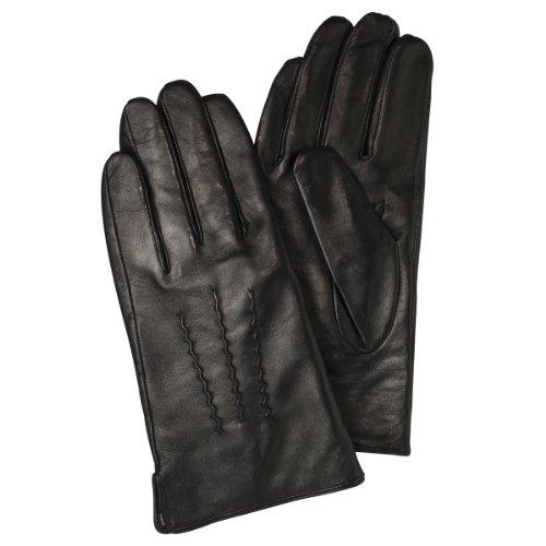 (フランコ コレツィオーニ)Franco Collezioni FC メンズ羊革手袋 SMA020 40692 40692  ブラック FREE