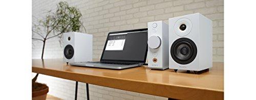 ソニー SONY コンパクトオーディオシステム CAS-1 : ハイレゾ対応 Bluetooth/LDAC/NFC対応 DSEE HX搭載 ヘッドホンアンプ搭載 ホワイト CAS-1 W