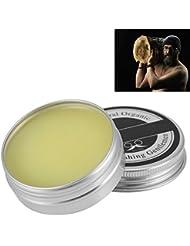 メンズひげワックス  ひげクリーム 口髭用ワックス  保湿/滋養/ひげ根のケアなどの効果  ひげケア必需品 携帯便利