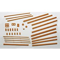 Wills Buildings Pack A, Chimneys, Drainpipes, Sills Etc. Oo Gauge Plastic Kit Ss
