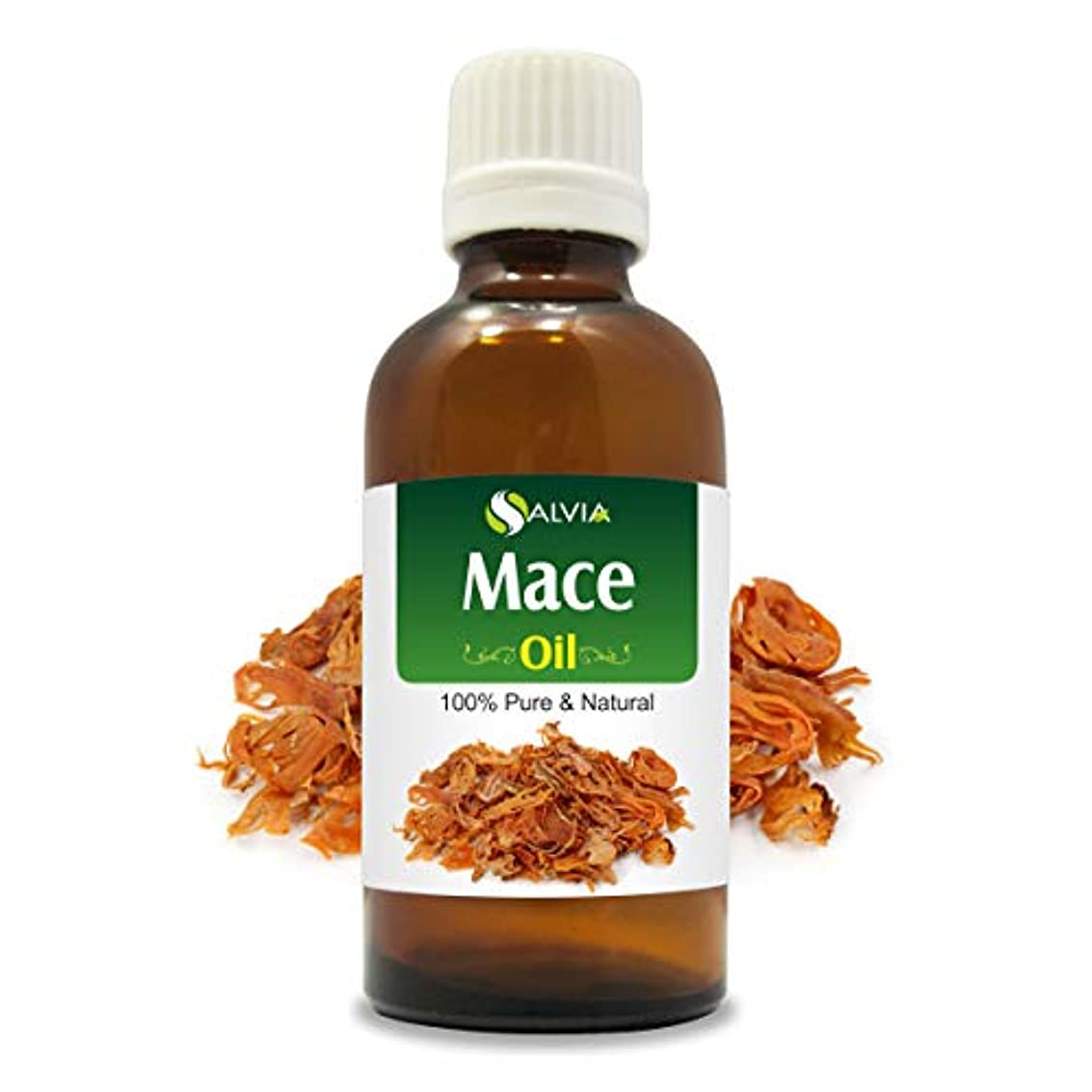 広い快いブロックMace Oil (Myristica fragrans) 100% Natural Pure Undiluted Uncut Essential Oil 100ml