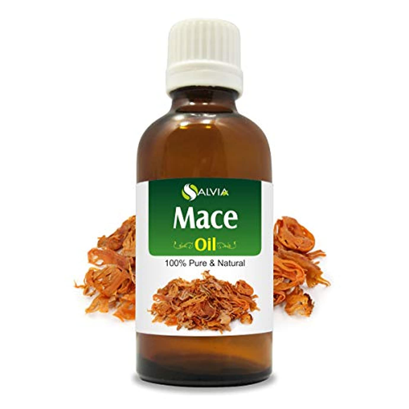 見るバングラデシュ自慢Mace Oil (Myristica fragrans) 100% Natural Pure Undiluted Uncut Essential Oil 15ml