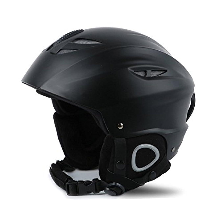 大気カレッジ関連付けるDeylaying スキーヘルメット 耐衝撃 防風 防寒 ゴーグル対応 安全スノーボードヘルメット 男女兼用