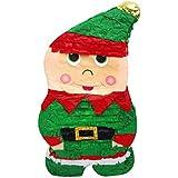 クリスマスエルフピニャータ、ホリデーデコレーション、パーティーゲーム、写真小道具。
