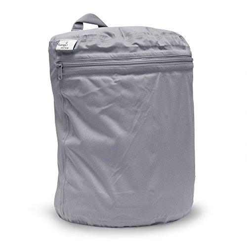 カンガケア Wet Bag 半円型の大容量防水ウェットバッグ Silver シルバー