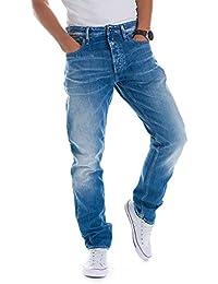 (デンハム) DENHAM メンズ ボトムス FORGE HD リラックス フィット デニム ジーンズ パンツ 01-0211047