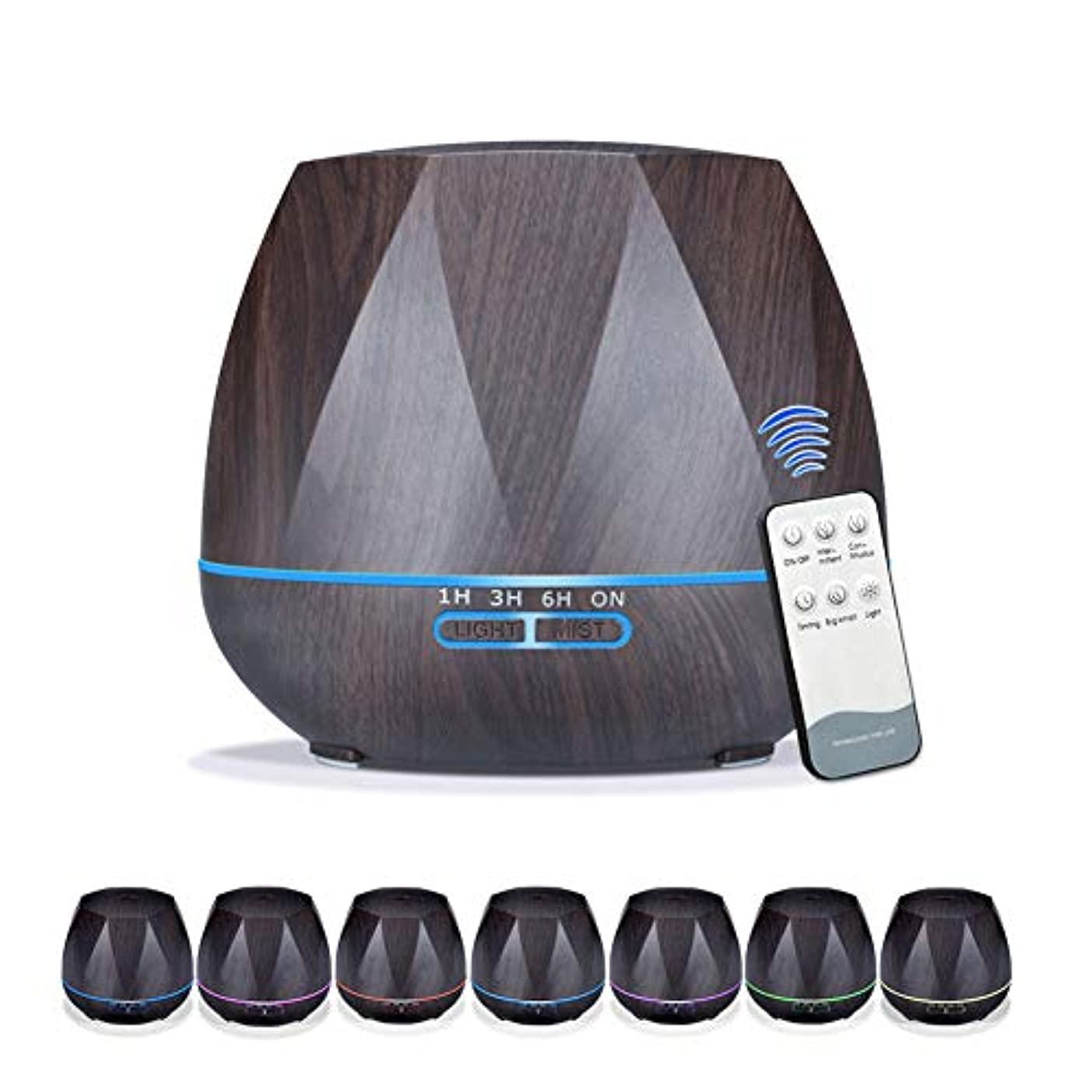 熱帯のチャーム敵対的加湿器アロマエッセンシャルオイルディフューザー用オフィスホーム寝室リビングルーム研究ヨガスパリモートコントロール