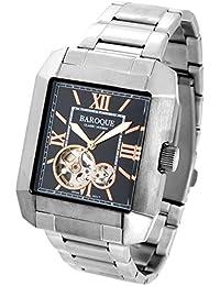 [バロック] BAROQUE QUADRO クアドロ ウォッチ(ブラック) BA2004S-02M 腕時計 時計 メンズ 紳士 クォーツ ステンレスベルト