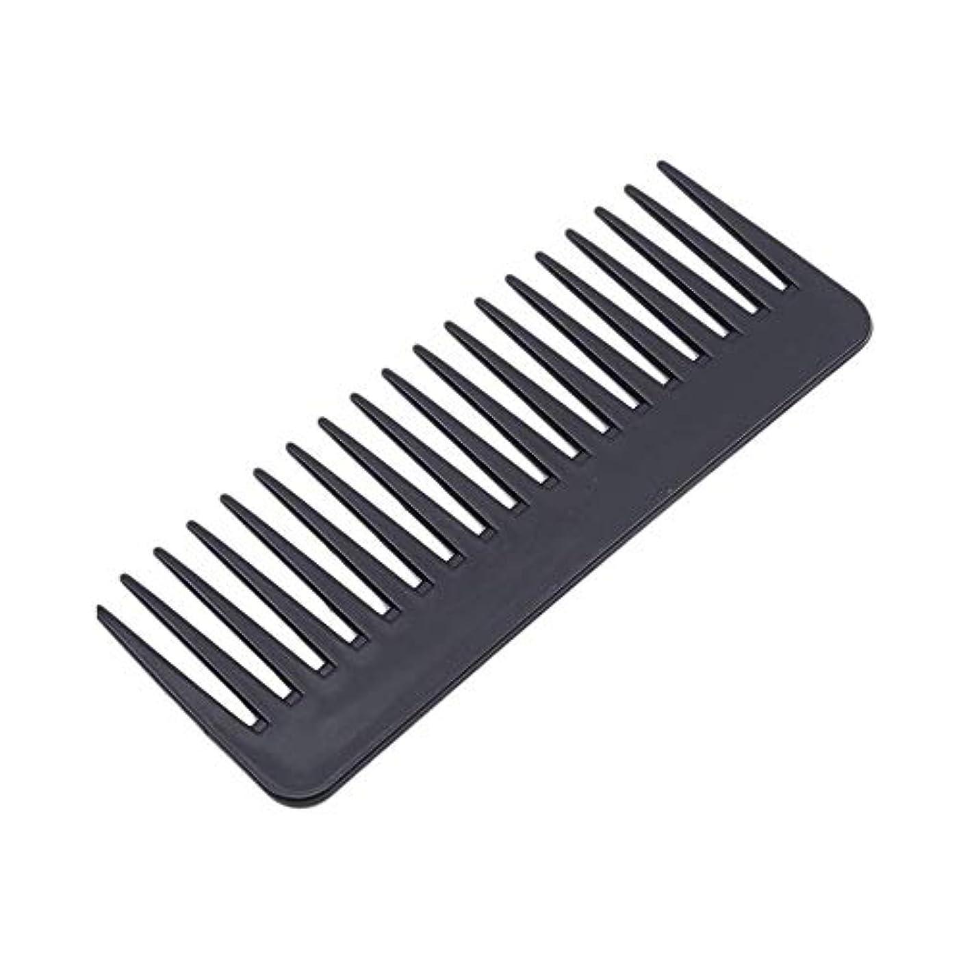 増強明らかにベーコン1st market 広い歯の櫛の腹筋理髪ツールの ための耐熱性プラスチック大きな歯の櫛