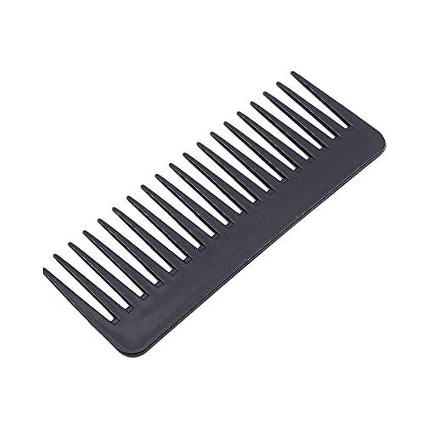 1st market 広い歯の櫛の腹筋理髪ツールの ための耐熱性プラスチック大きな歯の櫛