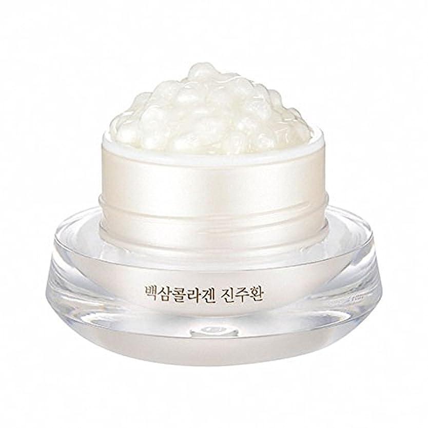 詳細な化学薬品軽減(ザフェイスショップ) THE FACE SHOP WHITE GINSENG COLLAGEN PEARL CAPSULE CREAM 白参 コラーゲン パール カプセル (韓国直発送) UENMI