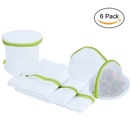 [해외]KYG 세탁 망 세탁 네트 6 장 세트 (L · M · S · 돔   원통형) 엉성한 방지 엉킴 방지 미세한 그물망 튼튼 여행   가정용/KYG Laundry net Washing net 6 pieces set (L · M · S · dome   cylindrical type) Prevent collapse Prevent entangle...