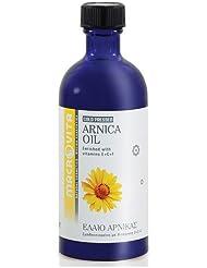 マクロビータ アルニカオイル 100ml ギリシャ製自然派コスメオイル(天然成分100%)