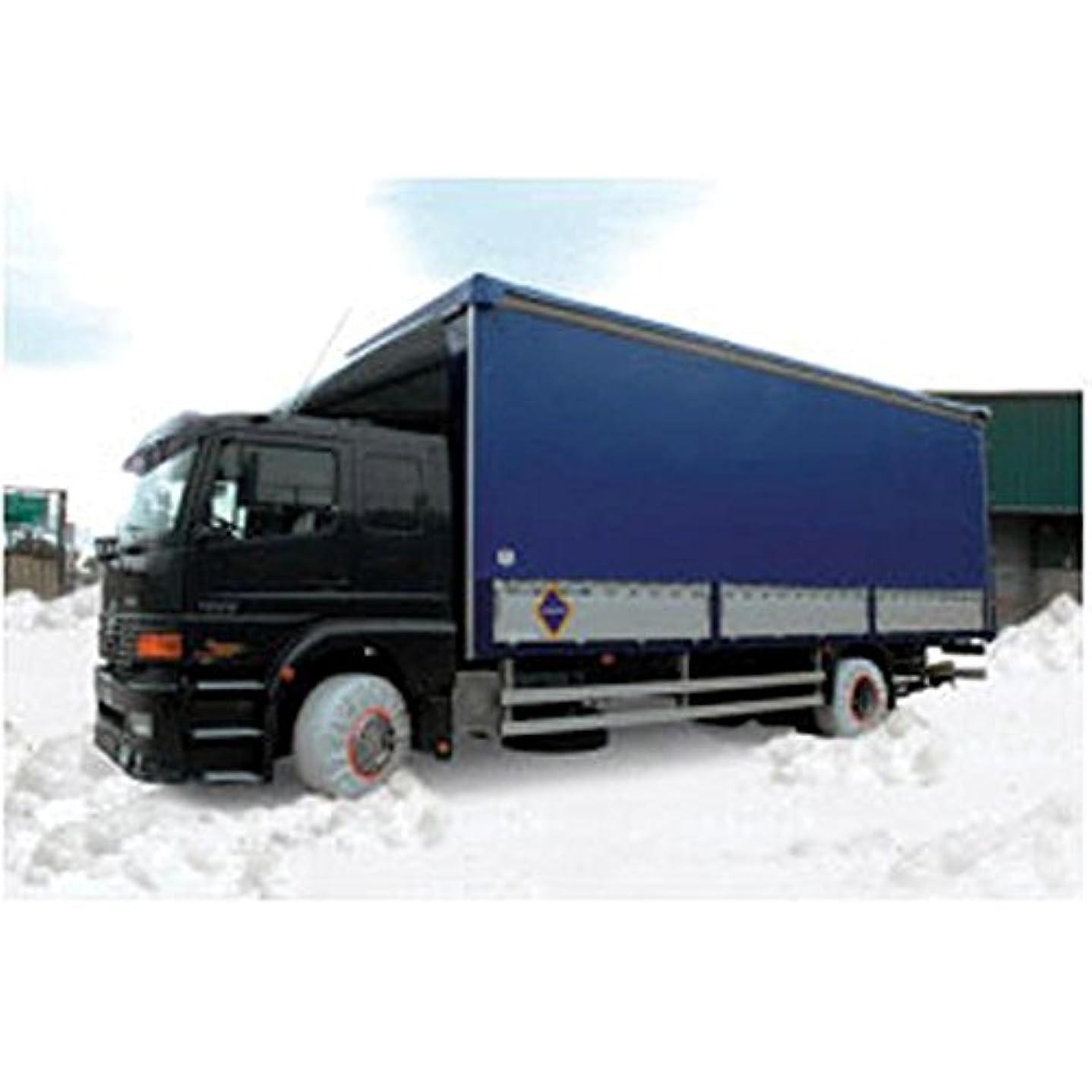 別々にバレーボールヒゲISSE Safety(イッセ セイフティー) 布製タイヤチェーン スノーソックス オートセンター機能搭載 大型車専用 Truck サイズ 92 C80092