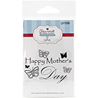 Gourmet Rubber Stamps Cling Stamps 2.75x4.75-Happy Mother'S Day W/Butterflies by Gourmet Rubber Stamps