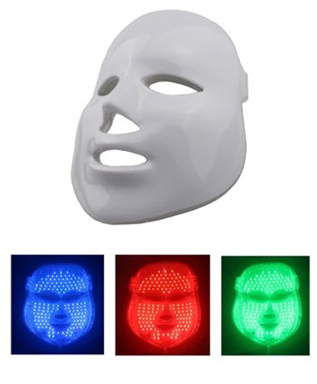美顔 LEDマスク LED美顔器 三色モデル