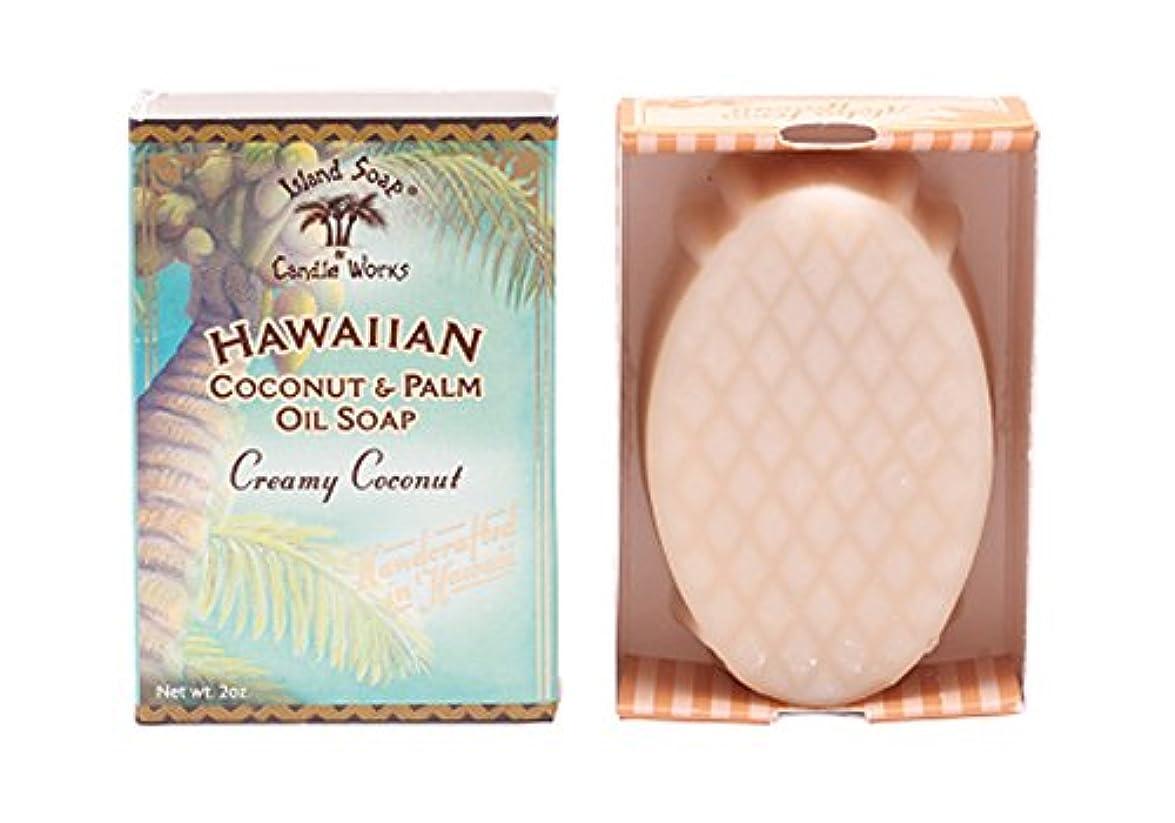 一月地味な天のアイランドソープ ココナッツソープ ココナッツ 50g