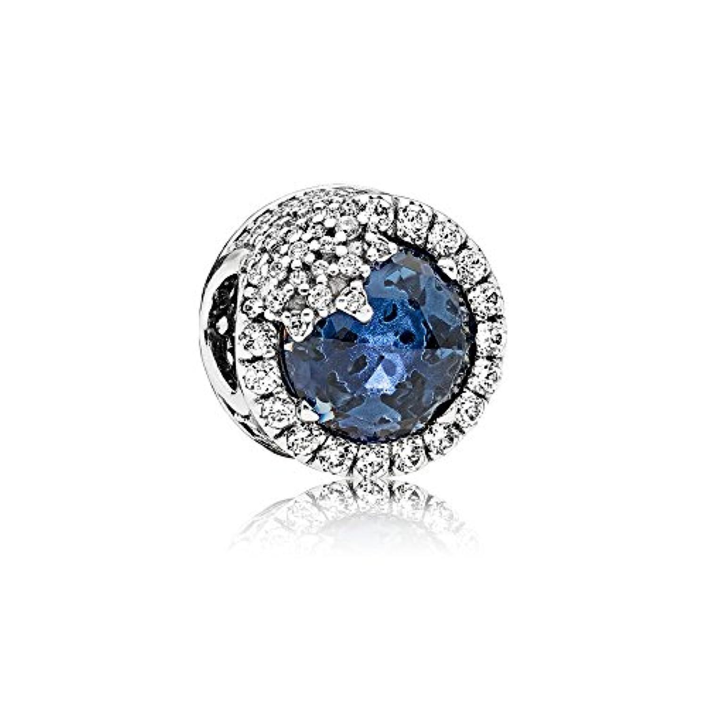 [パンドラ] PANDORA Blue Dazzling Snowflake チャーム (シルバー ミックスストーン) 正規輸入品 796358NTB