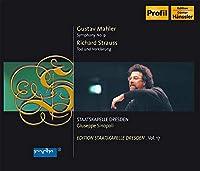 マーラー:交響曲第9番ニ長調/R.シュトラウス:交響詩「死と変容」Op.24 (2CD)