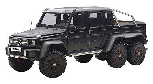 AUTOart 1/18 메르세데스 벤츠 G63 AMG 6X6 (매트 블랙) 완제품