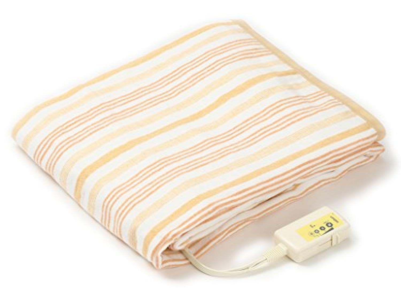 LIFEJOY 洗える 日本製 電気毛布 掛け敷き兼用 188cm×130cm オレンジ JBK551