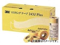 タクティー 住友スリーエム マスキングテープ カラー:黄色 3M243J20P 入数:6ロール