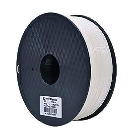 材質:ABS樹脂 重量:1Kg/roll 有効温度: 210 - 250度 HICTOP 3Dプリンター用 ABS樹脂 フィラメント【高品質で精密・天然素材を使用しており危険な物質を含まない】