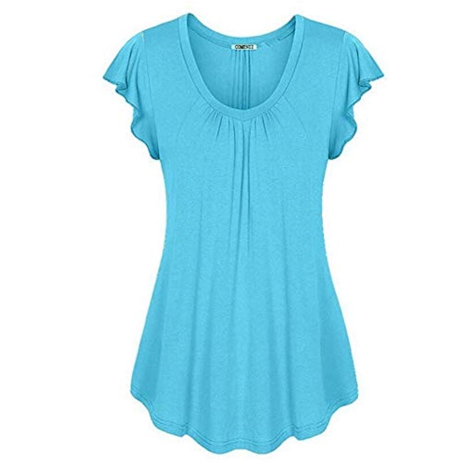 エキス安心土曜日MIFAN の女性のドレスカジュアルな不規則なドレスルースサマービーチTシャツドレス