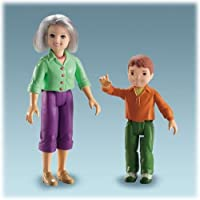 Fisher-Price Loving Family Dollhouse Figures, Grandma and Brother